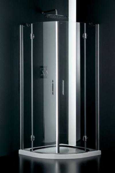 Box doccia, cristalli temperati , telaio alluminio, ante scorrevoli